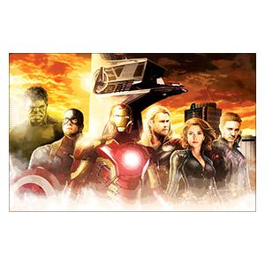 Avengers. Размер: 70 х 45 см